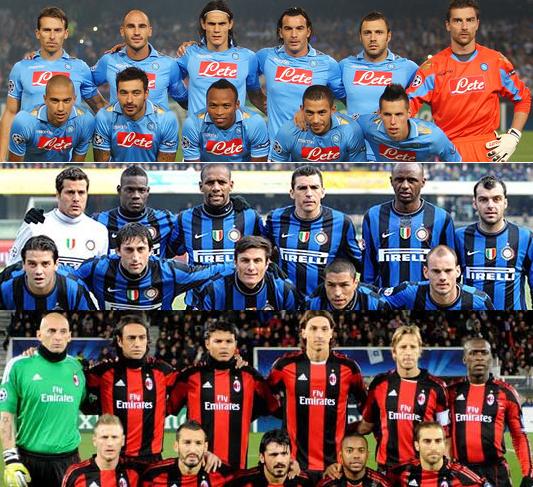 Equipes vs Juventus