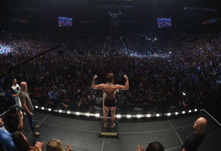 McGregor pesée