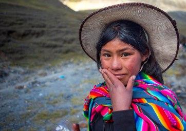 Young Peruvian Girl, Qoyllur Riti Festival, Ocongate Cuzco, Peru